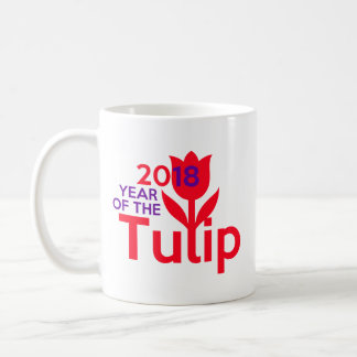 Year of the Tulip 2018 mug 🌷