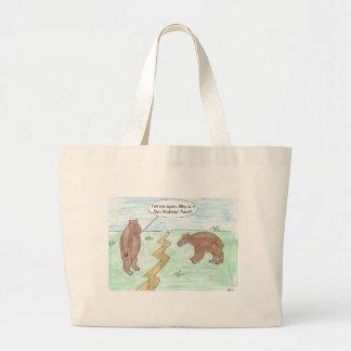 Year Older Large Tote Bag