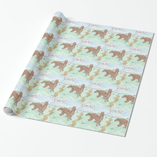 Year Older Wrapping Paper