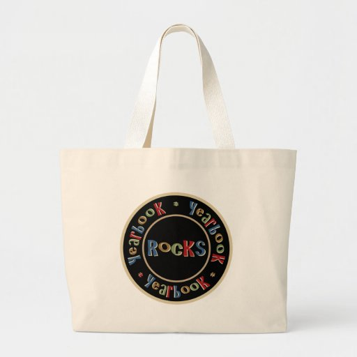 Yearbook Rocks Canvas Bag