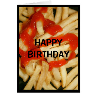 Years Never Seem To Ketchup To You! Card