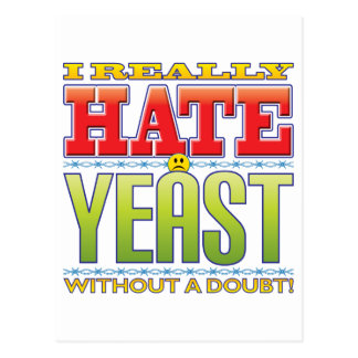 Yeast Hate Face Postcard