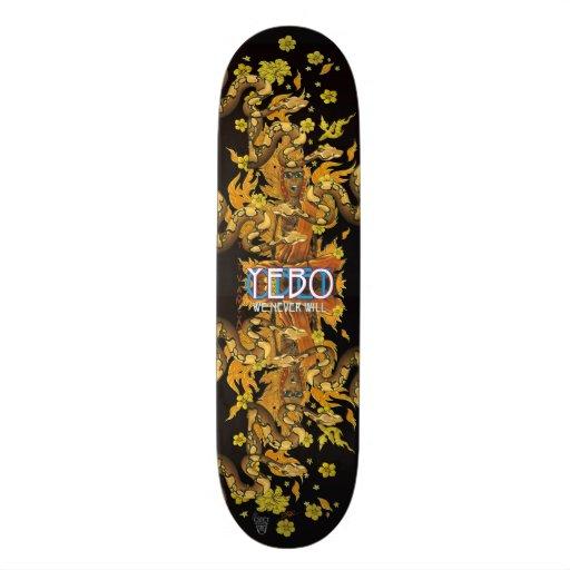 YEBO Burning Monk Skate Boards
