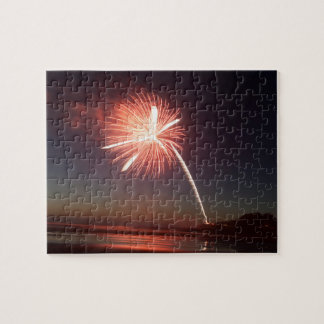 Yechats Oregon,  4th of July Fireworks. Jigsaw Puzzle
