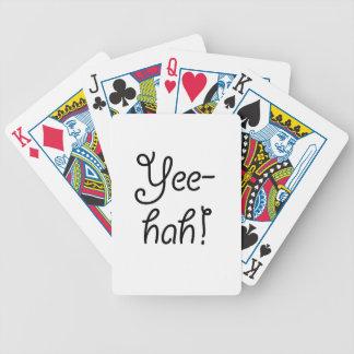 Yee-hah! Bicycle Playing Cards