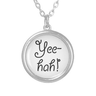 Yee-hah! Silver Plated Necklace