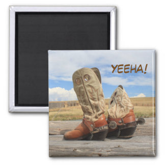 Yeeha! Western Boot Magnet