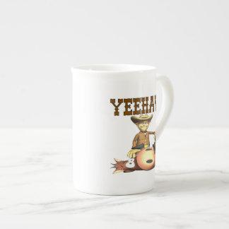 Yeehaw 2 bone china mug