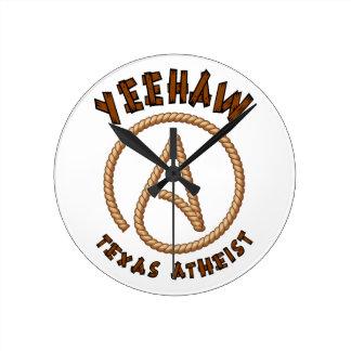 Yeehaw! Round Clock