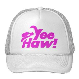 YeeHaw Gitty Up Cowgirl Trucker Hats