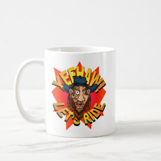 Yeehaw! Let's Ride Cowboy Mug