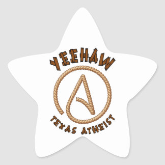 Yeehaw! Star Sticker