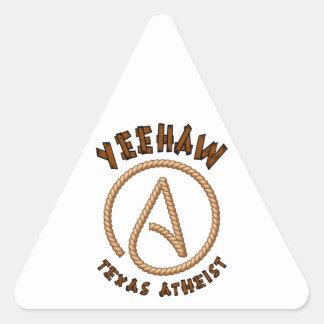 Yeehaw! Triangle Sticker