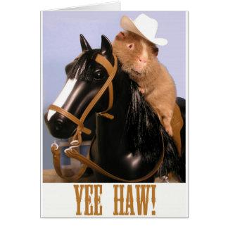 YeeHAW Wilbur Card