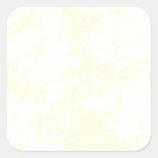 Yellow2 Soft Grunge Design Square Sticker