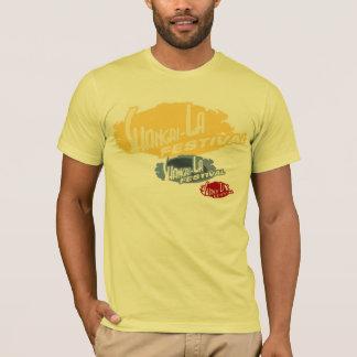 Yellow, 3-logo, Festival Shirt