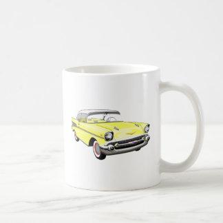 Yellow '57 Shoebox Mug