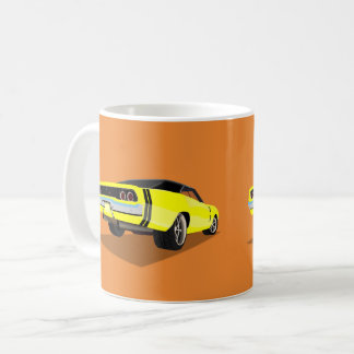 Yellow '68 Charger Mug