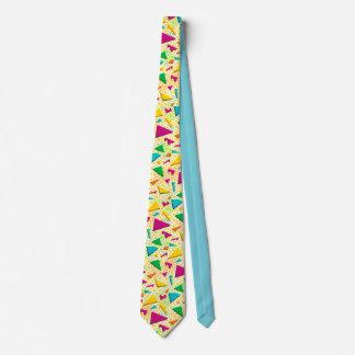 Yellow 90's Retro Tie
