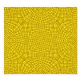 Yellow abstract wood pattern art photo