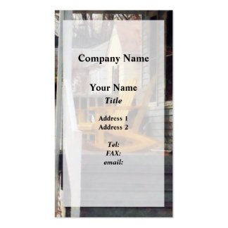 Yellow Adirondack Rocking Chairs Pack Of Standard Business Cards