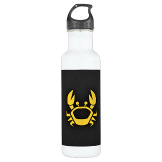 Yellow Amber Crab 710 Ml Water Bottle