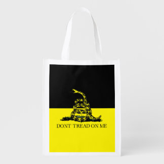 Yellow and Black Gadsden Flag