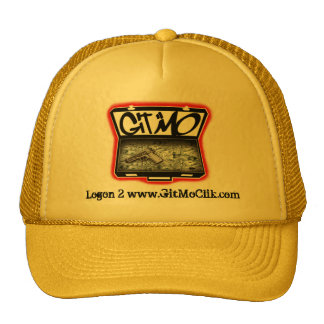 Yellow and Black Git Mo' Trucker Hat