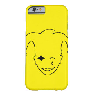 Yellow And Black MTJ Barely There iPhone 6 Case