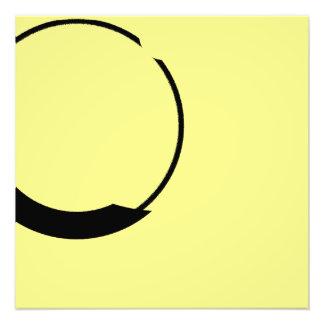 yellow and black photo print