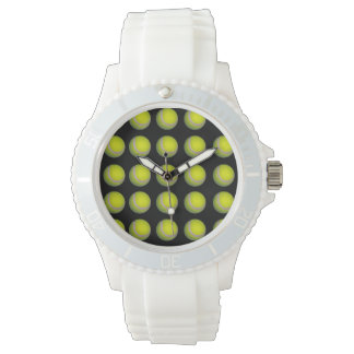 Yellow And Black Tennis Ball Pattern, Watch