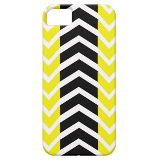 Yellow and Black Whale Chevron iPhone 5 Cases