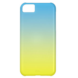 Yellow And Blue Two Tone iPhone 5C Case