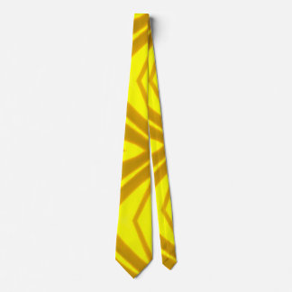 Yellow and Brown Mustard Pattern Tie