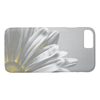 Yellow and Gray Floral Highlights iPhone 8/7 Case