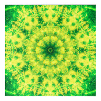 Yellow and Green Art