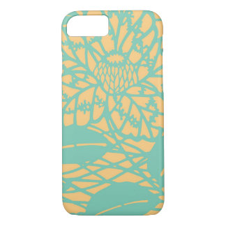 Yellow and Green Leaves iPhone 7 Case