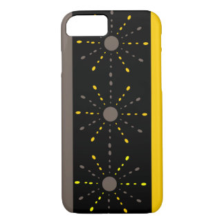 Yellow and grey iPhone 7 case