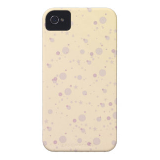 Yellow and Lavender Sprinkle Stars Case-Mate iPhone 4 Case