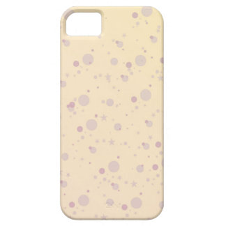 Yellow and Lavender Sprinkle Stars iPhone 5 Case
