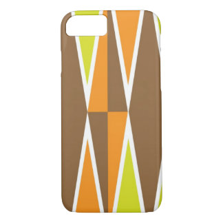 Yellow and Orange Diamond Pattern iPhone 7 Case