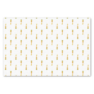 Yellow and orange happy cartoon giraffe tissue paper