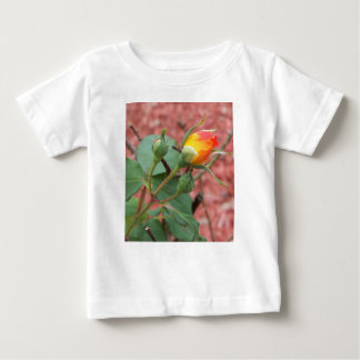 yellow and orange rose bud baby T-Shirt