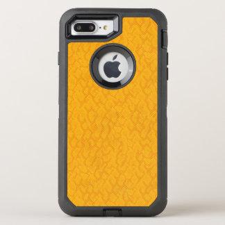 Yellow and Orange Snake Skin Pattern OtterBox Defender iPhone 8 Plus/7 Plus Case