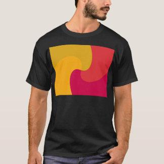 Yellow and orange twist T-Shirt