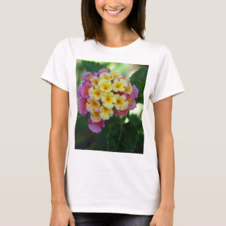 Yellow and Pink Flowers T-Shirt