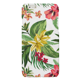 Yellow And Pink Hibiscus Pattern