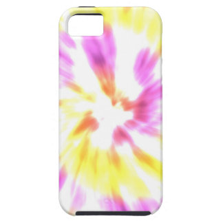 Yellow and Pink Tie Dye iPhone 5 Case