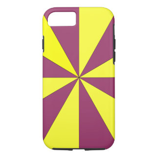 yellow and purple iPhone 8/7 case