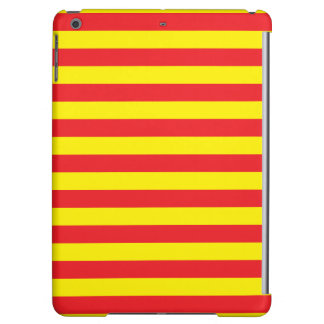Yellow and Red Horizontal Stripes